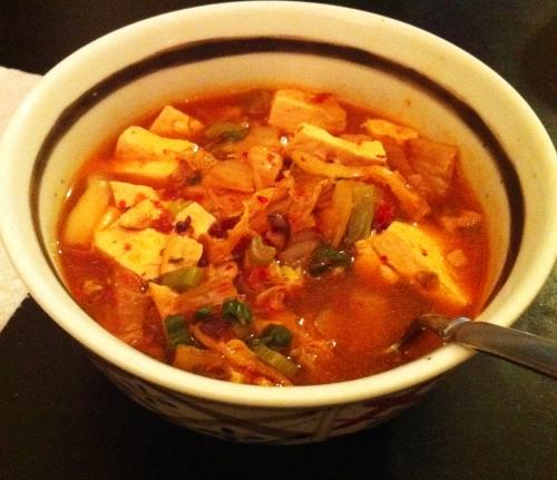 spicy kimchi stew