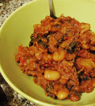 Borlotti Bean Mole w/ Roast Winter Squash